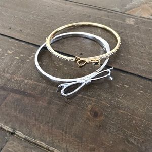 Set of 2 Kate Spade Bow Bracelets